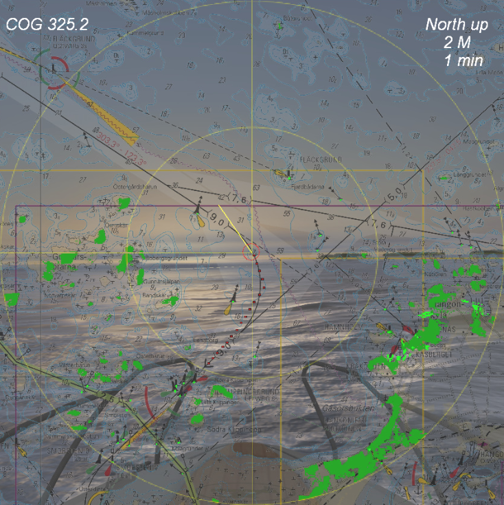 kort radar